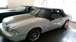 Very nice Ford Mustang Fox Body Convertible