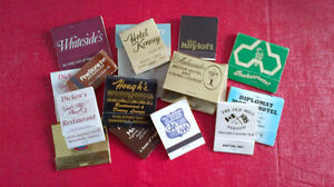 Matchbook Covers-Ontario Various Locations Kitchener / Waterloo Kitchener Area image 1
