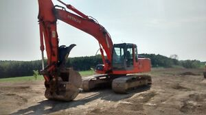 2006 Hitachi 200 LC Excavator with hydraulic thumb/pin grabber Stratford Kitchener Area image 2