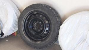 Set of 4 Bridgestone Blizzack WS 80 snow tires