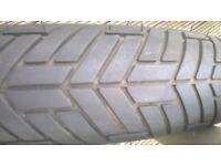 Metzeler front tyre