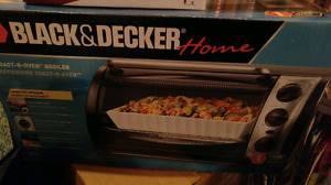 BRAND NEW BLACK AND DECKER TOASTER OVEN!