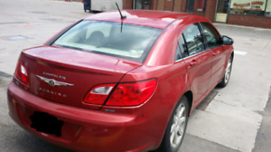 2009 Chrysler Sebring Sedan, accident free with Safety report