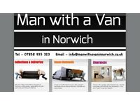Man with a Van in Norwich - WILL NOT BE BEATEN ON PRICE - Call Now for a Cheap Quote