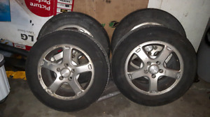 215/60/16 Tires on Chevy rims
