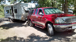 2002 Ford F-150 Pickup Truck/TRAILER 24'