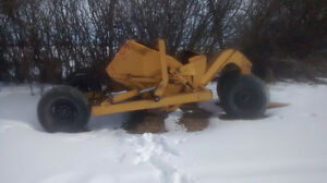 ASHLAND DIRT SCRAPPER! 6 yard! Easy loader! Like new! Cheap!