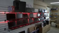 Vente & réparation de laptop & ordinateur de bureau 514-999-6996