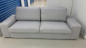 Free delivery: Grey IKEA kivik 3 seater sofa