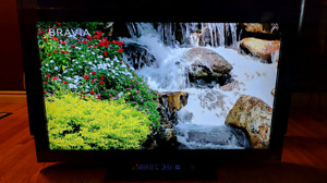 """40"""" Sony Bravia 1080p FULL HD LCD TV with backlit remote control"""