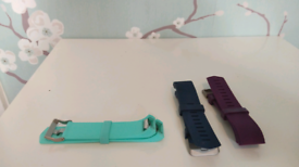 FITBIT WATCH STRAPS - genuine and textured, PERFECT CONDITION