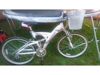 Lady's reebok bicycles with basket