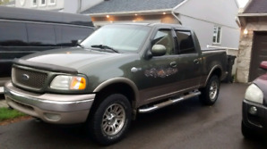 FORD F150 KING RANCH 4X4 2003(AUCUNE ROUILLE)