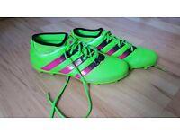 Adidas ace 16.3 primemesh football boots size 9
