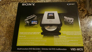 Sony DVDirect DVD Recorder VRDMC5. New, never used!!