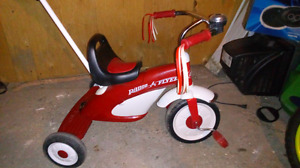 Tricycle retro radio flyer a vendre