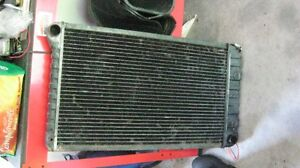 Radiater and heater core