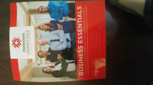 BUSINESS ESSENTIALS TEXTBOOK FANSHAWE COLLEGE