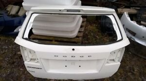 2015 Dodge Journey tailgate and rear bumper