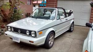 1989 Volkswagen VW Cabriolet Convertible