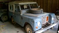 Land Rover Series lll 88inch Station Wagon