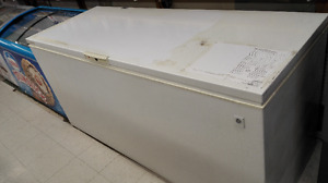 Large Commercial Manual Defrost Food Freezer (White)
