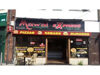 Pizza and kabab shop for sale