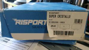 Risport Super Cristallo Boys Figure Skates with Freestyle Blade