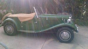MG TD 1952 (MiGi II kit car) British Racing Green