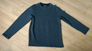 Brand New Dark Grey Long Sleeve Shirt (size medium)