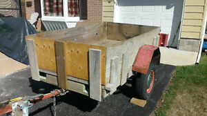 Homemade Trailer For Free / Sale
