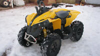 2012 CAN AM 1000 RENEGADE &2004 DS 90