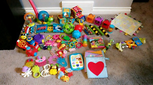 Lot of Toddler and Baby Toys