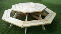 wanted octagon table or to build