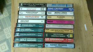 20 Christmas Music Cassette Tapes