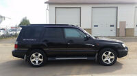 Subaru Forester from Japan / AWD Turbo and very low mileage!