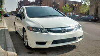 66000 km - 2009 Honda Civic DXA - Super propre