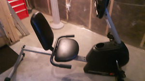 Exercise Bike used only a few times! Like brand new!!!!