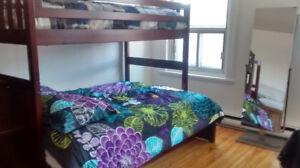 Dortoir luxueux lits superpose 2 Filles ou la chambre toute seul