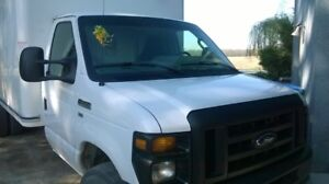 Selling 2015 E450 Ford Cube Van/Truck
