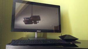 ASUS Computer, i7, 16 GB RAM. All In One Touch screen 23 inch