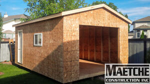 12ft x 20ft Sheds by Maetche Construction