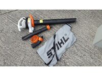 Stihl leaf blower and vacuum electric SHE 71 excellent condition