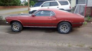 Looking for parts for my 69 Mustang Mach 1 fastback