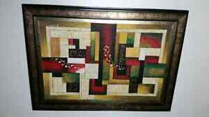 Abstract k. hillman painting