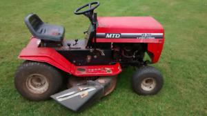 "12 hp MTD 38""-6 speed"