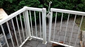 aluminum metal fence for dogs or others