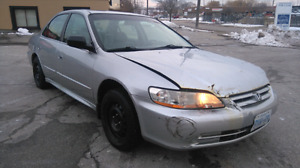 2002 Honda Accord Sedan 2.3L fully loaded and e-tested!