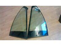 Bmw m sport e46 rear quarter glass