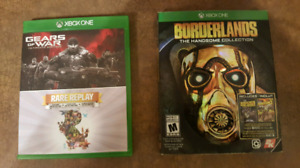 xbox one video games for sale for 15 dollars each